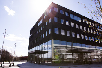 Ulls hus vid SLU i Uppsala. Ulls hus at SLU in Uppsala.